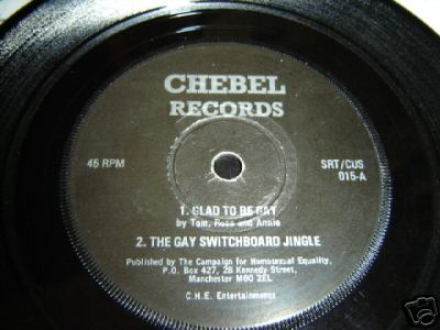 Good To Be Gay. Precursor song, recorded for Campaign for Homosexual ...