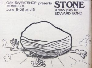 Edward Bond - Stone advert 1976