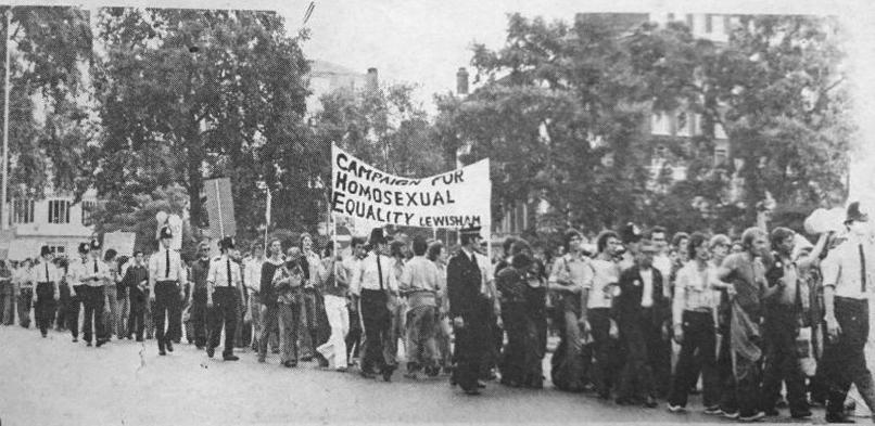 London Gay Pride 1976