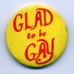 Glad To Be Gay badge