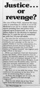 Gay News 72 - editorial